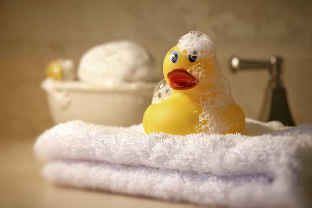 Reclaiming Your Bath time Ritual - Banish the Rubber Ducks! - Andrew Lee Home and Living