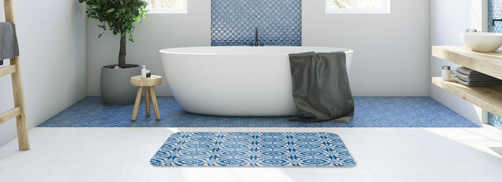 Bath mats to bring bathrooms to life