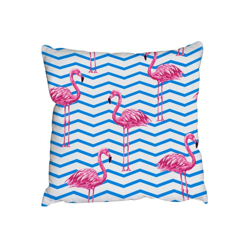 New Product Beautiful tropical pink flamingos (Cushion)  - Andrew Lee Home and Living