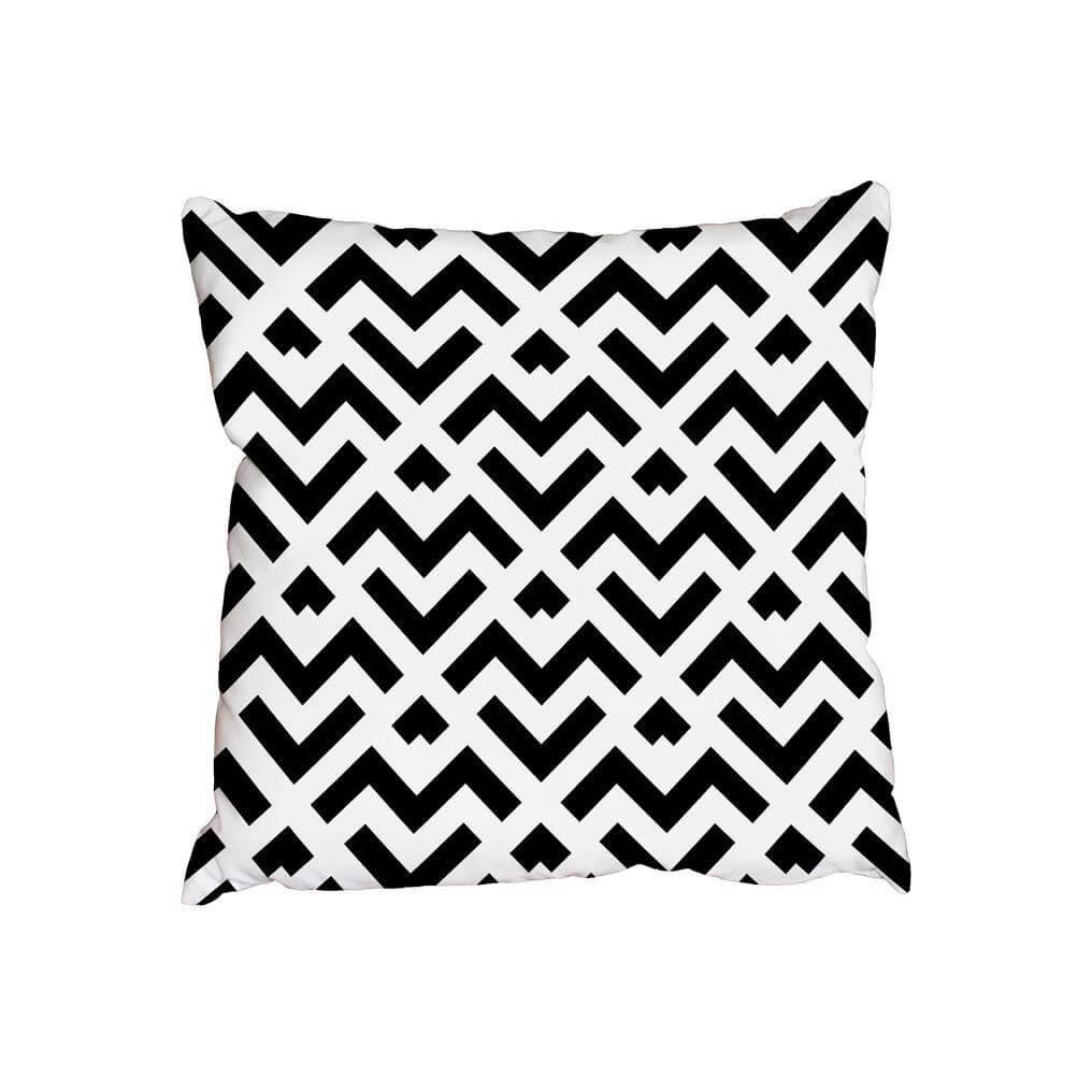 New Product Abstract pattern with stripes and lines (Cushion)  - Andrew Lee Home and Living