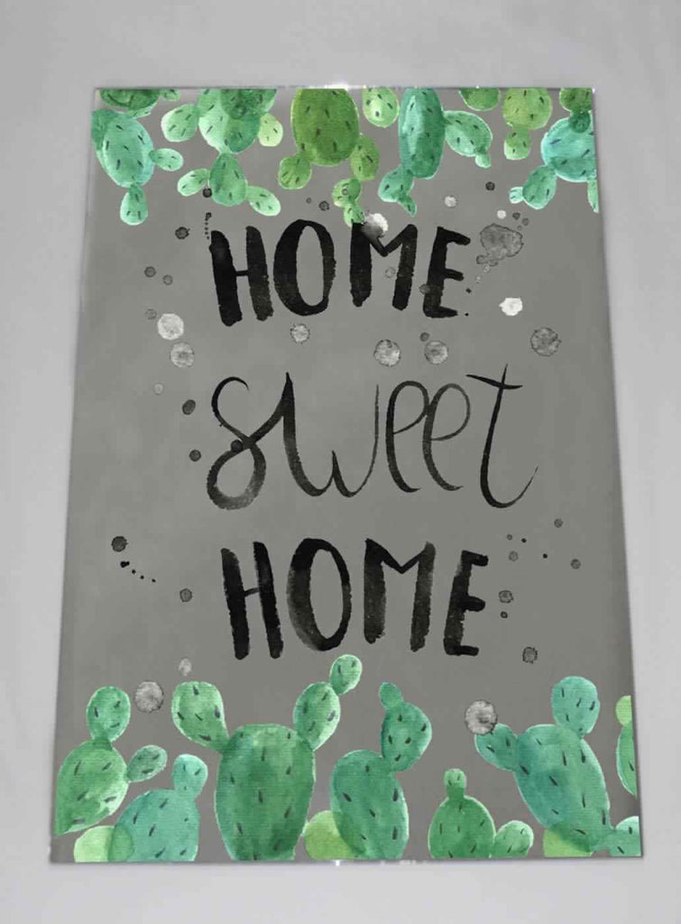 New Product Home Sweet Home (Mirror Art Print)  - Andrew Lee Home and Living