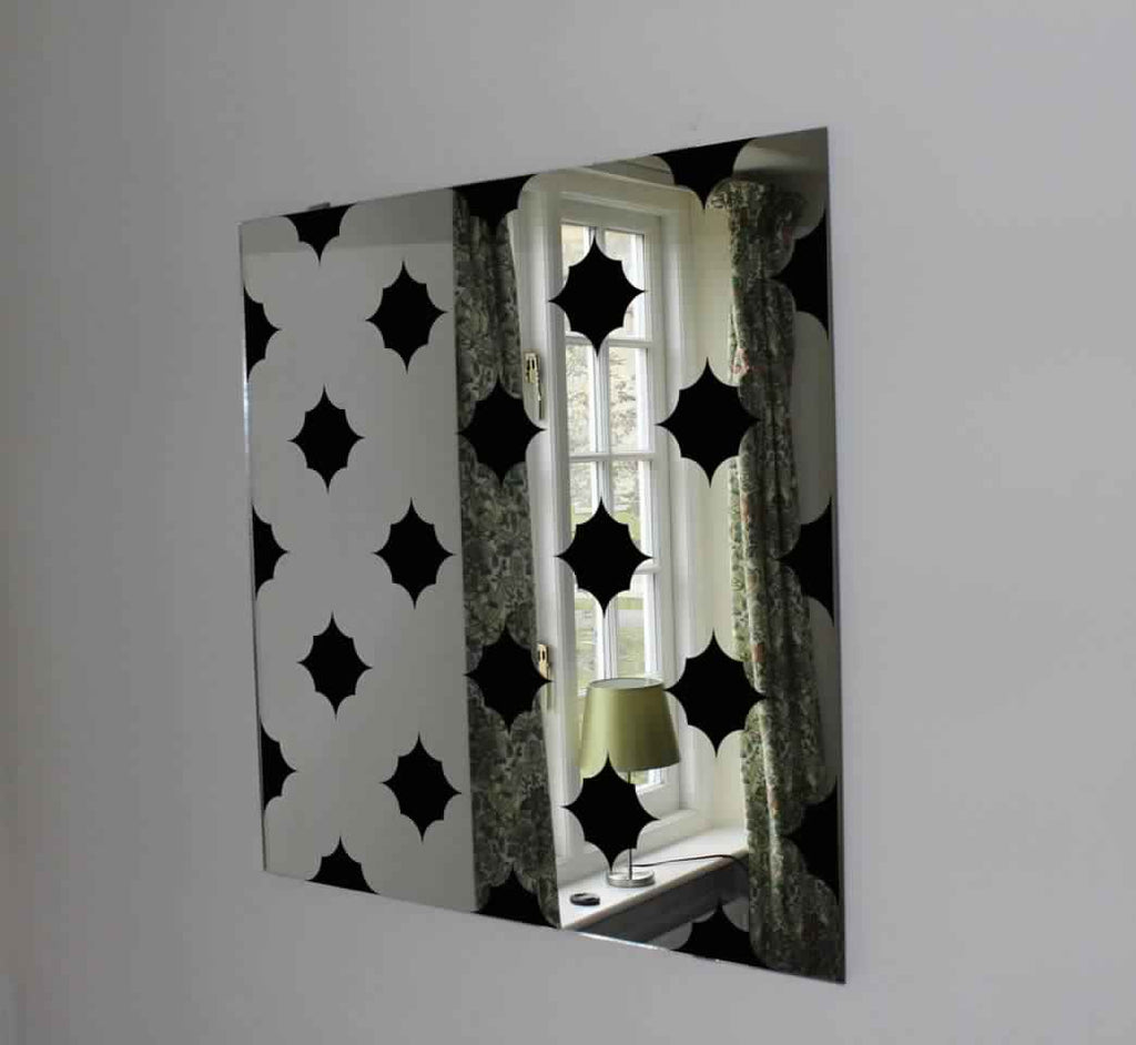 New Product Star Pattern (Mirror Art Print)  - Andrew Lee Home and Living
