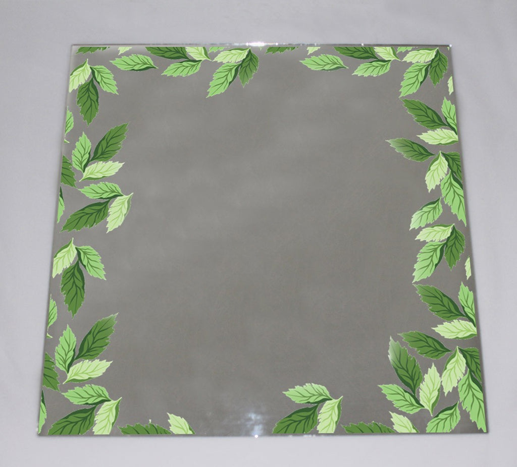 New Product Seamless Leaf Pattern (Mirror Art Print)  - Andrew Lee Home and Living