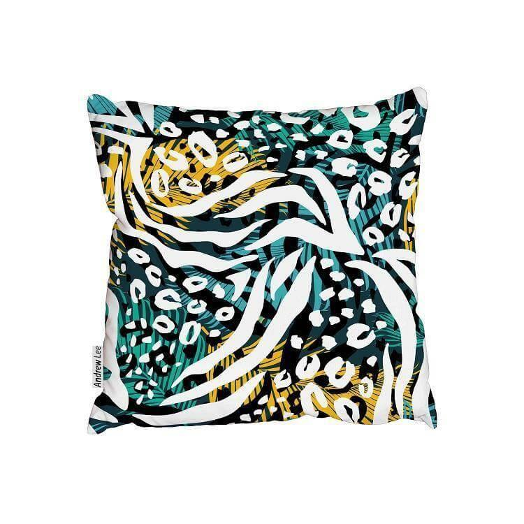 New Product Abstract animal print (Cushion)  - Andrew Lee Home and Living
