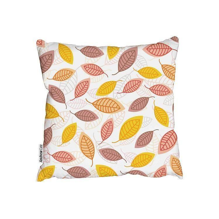 New Product Abstract autumn leaves (Cushion)  - Andrew Lee Home and Living