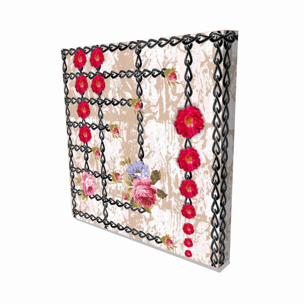 New Product Flowers and Chains (Canvas Prints)  - Andrew Lee Home and Living