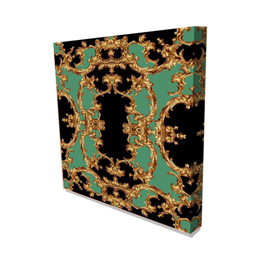 New Product Golden baroque and chain (Canvas Prints)  - Andrew Lee Home and Living