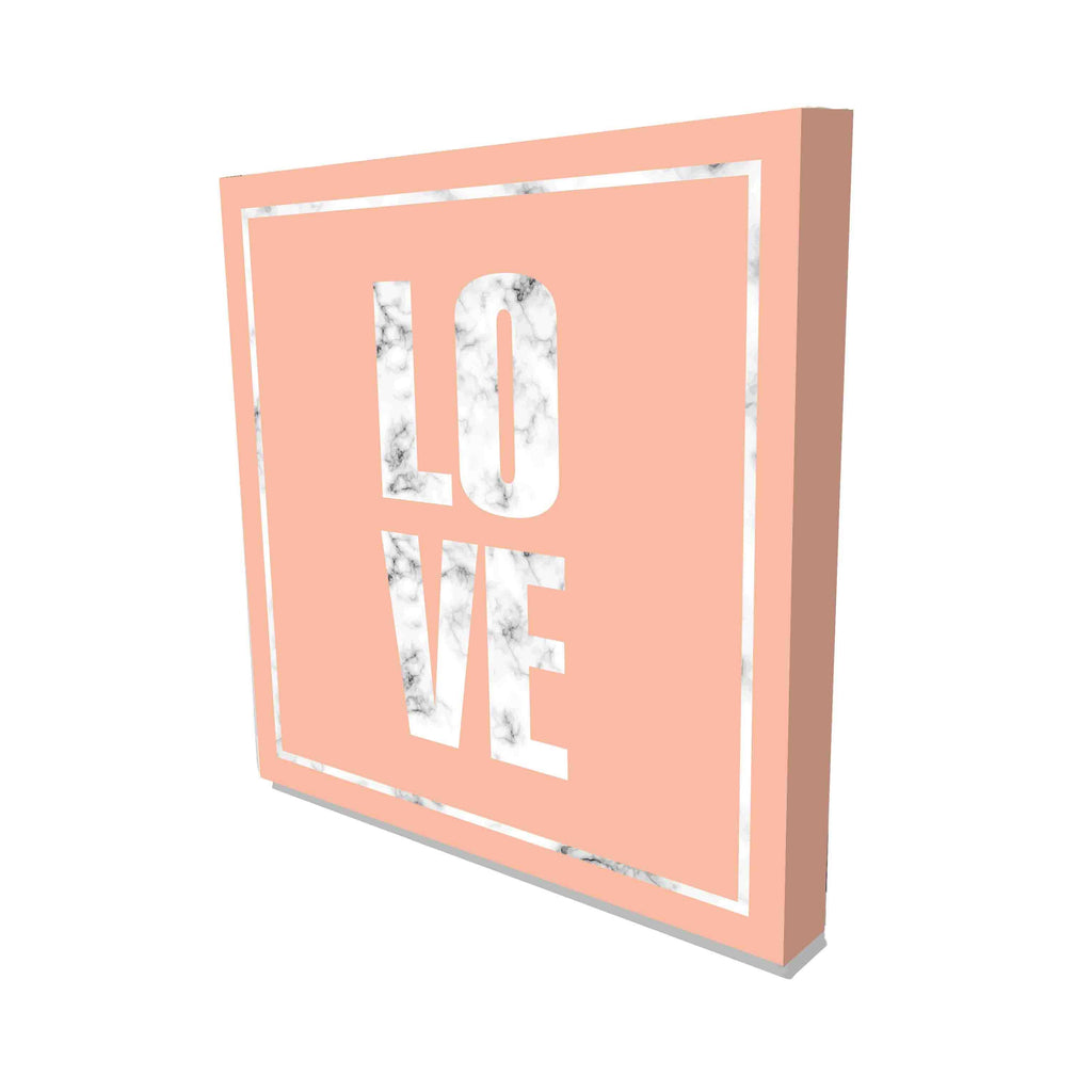 New Product Marble Love (Canvas Print)  - Andrew Lee Home and Living Homeware