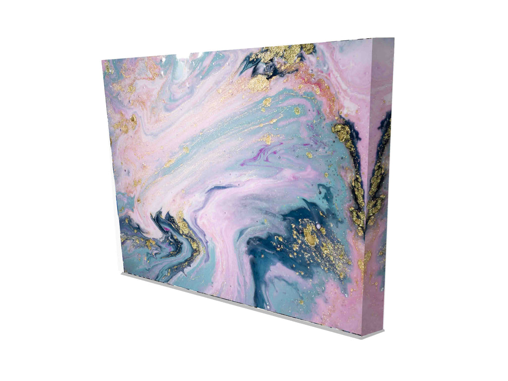 New Product Marbleised Pastel (Canvas Prints)  - Andrew Lee Home and Living Homeware