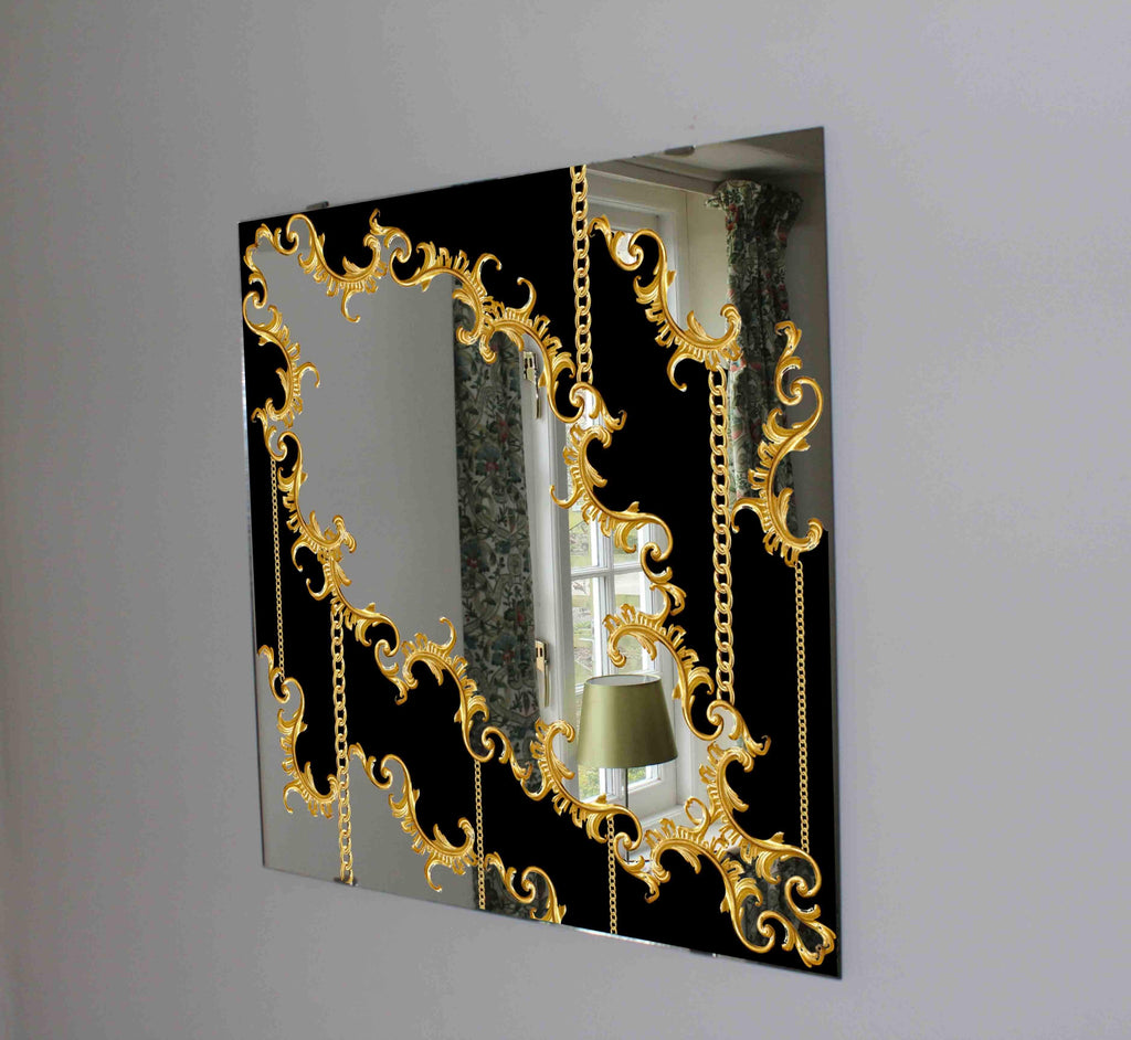 New Product Baroque (Mirror Art print)  - Andrew Lee Home and Living