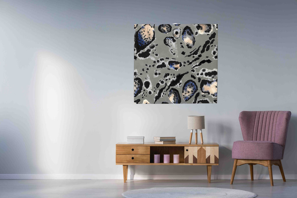New Product Leopard watercolour print (Mirror Art print)  - Andrew Lee Home and Living