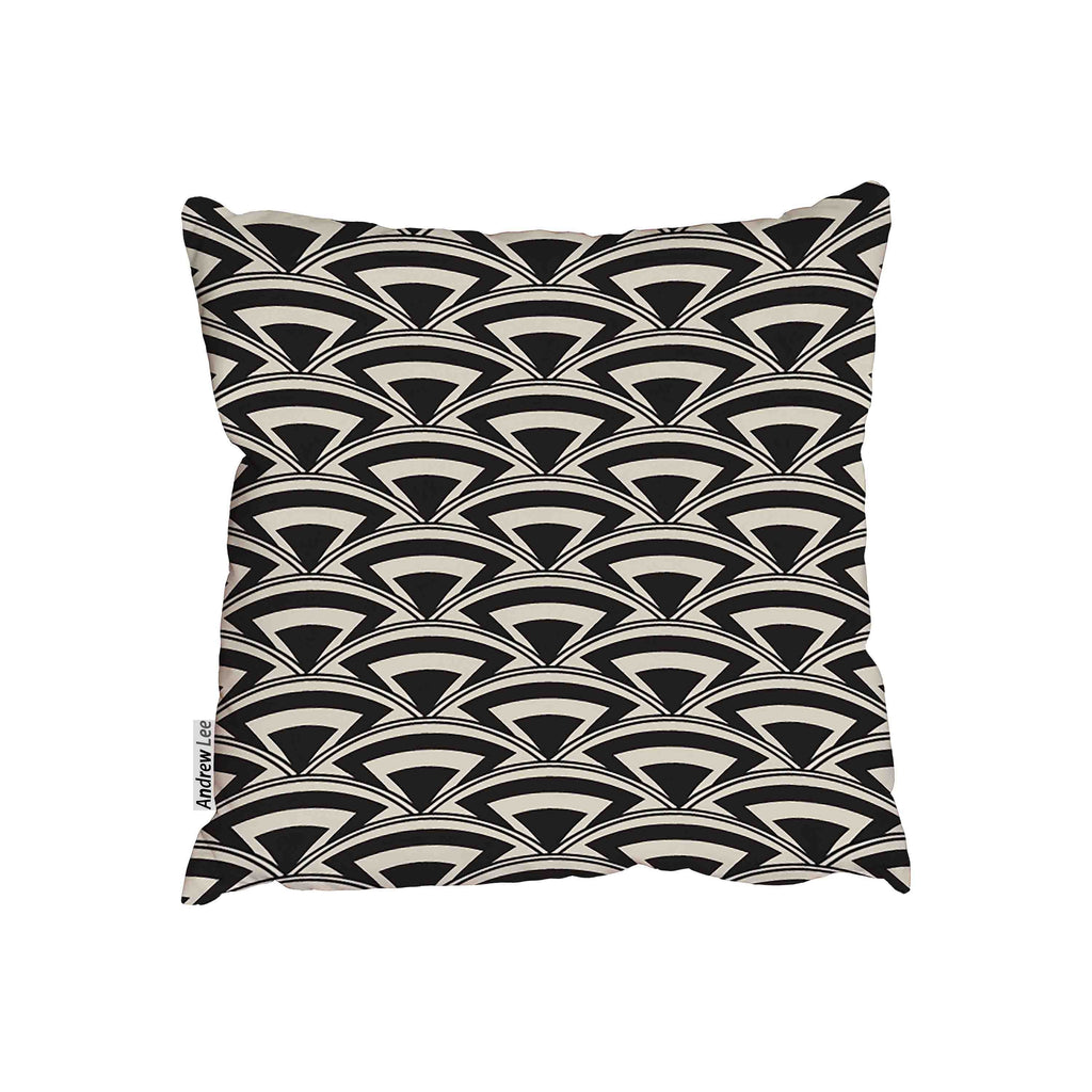 New Product Retro seamless pattern in art deco (Cushion)  - Andrew Lee Home and Living
