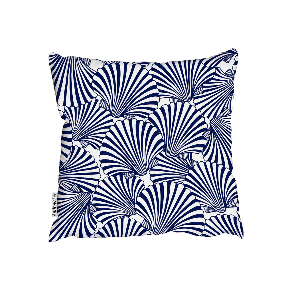 New Product Hand drawn scallop seashells (Cushion)  - Andrew Lee Home and Living