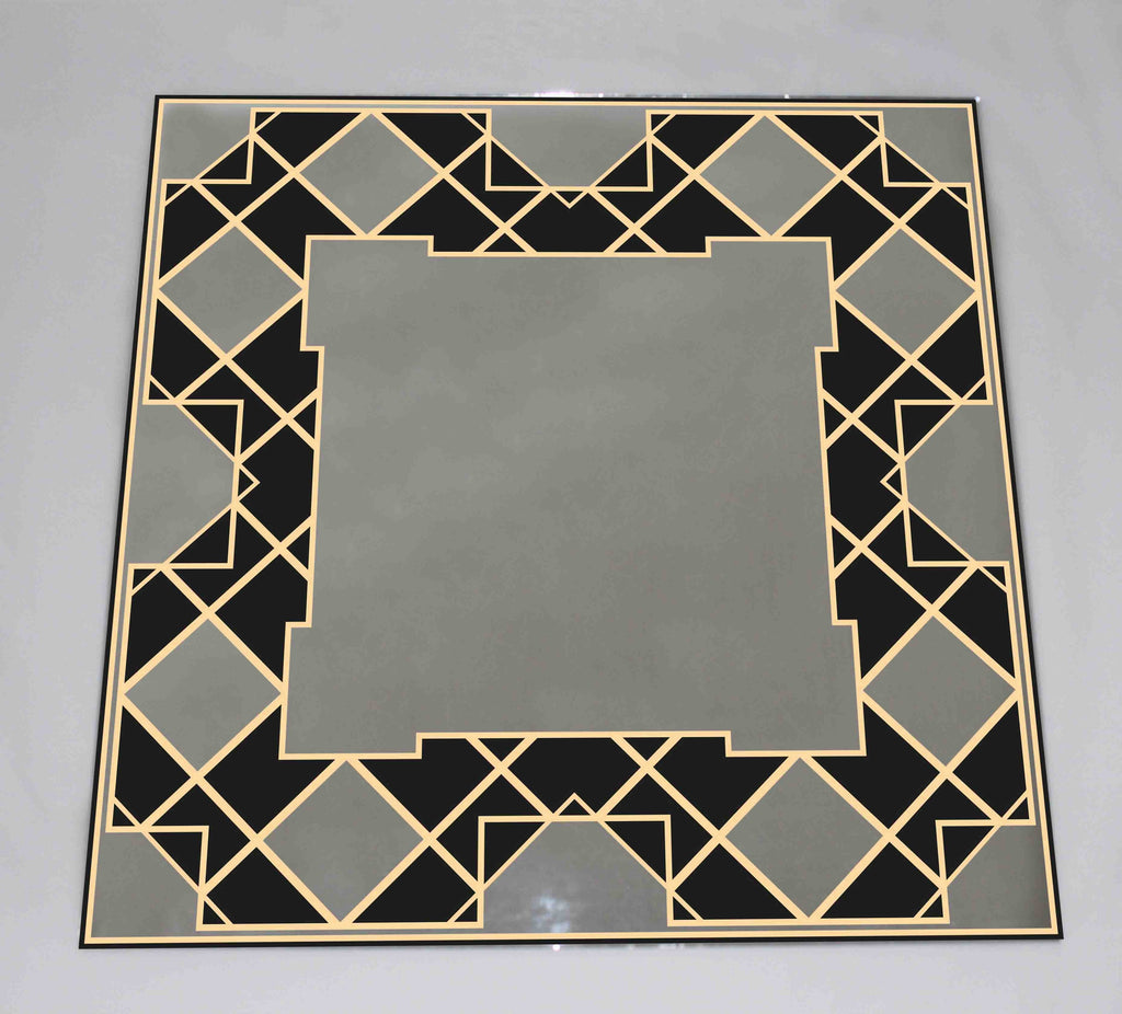 New Product Geometric frame in Art Deco style (Mirror Art print)  - Andrew Lee Home and Living