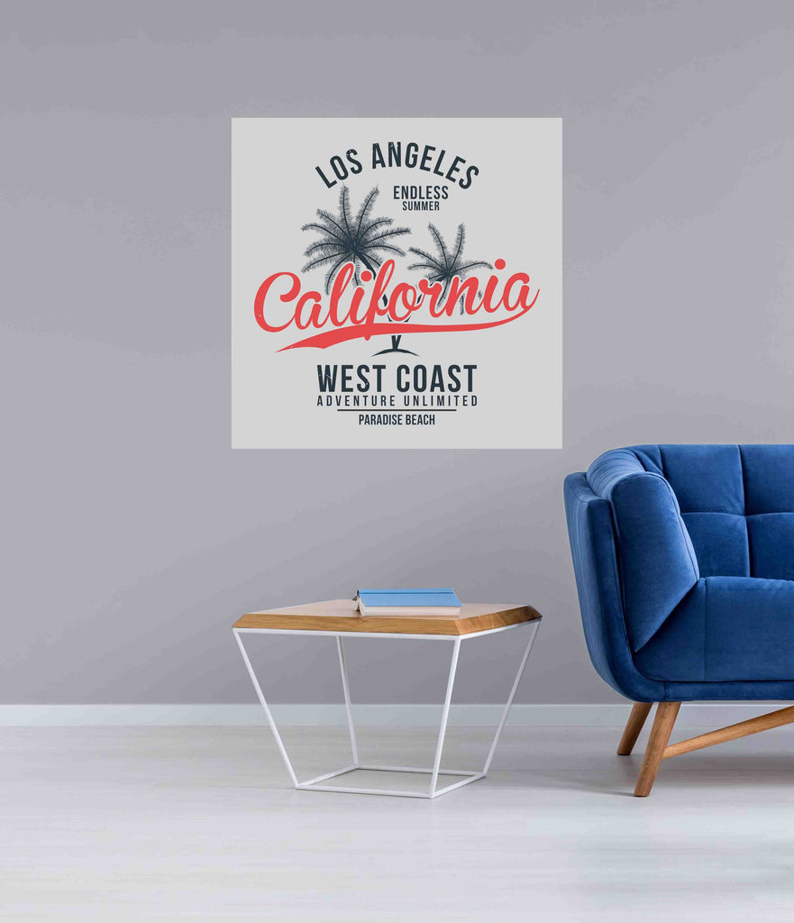 New Product California, Los Angeles (Mirror Art print)  - Andrew Lee Home and Living