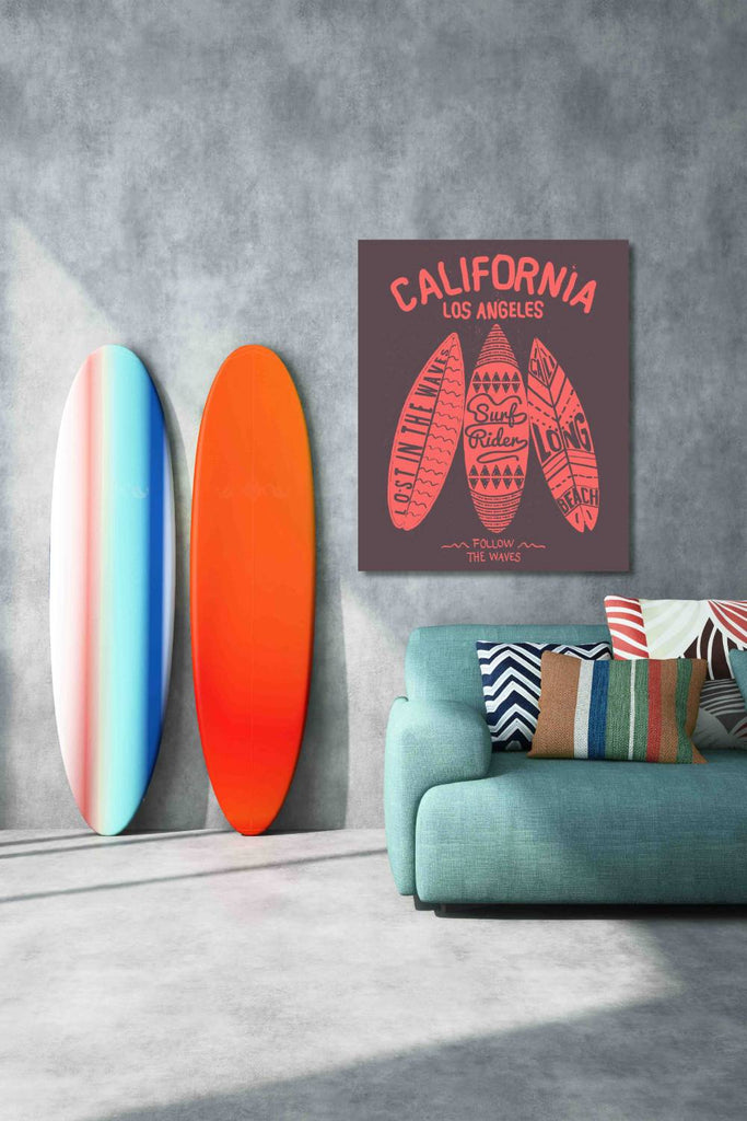 New Product Los Angeles California (Canvas Prints)  - Andrew Lee Home and Living