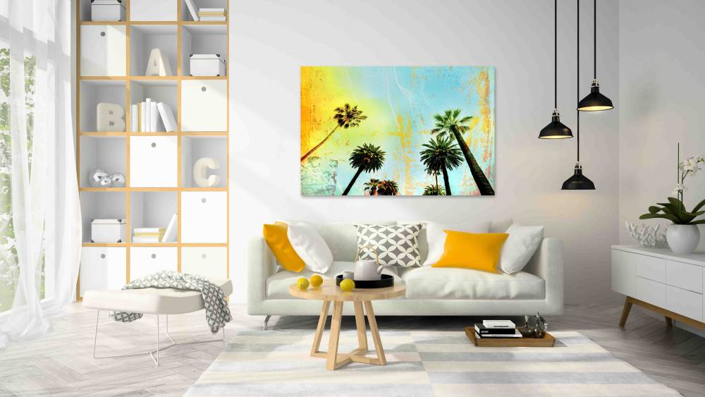 New Product Multi layered California (Canvas Prints)  - Andrew Lee Home and Living