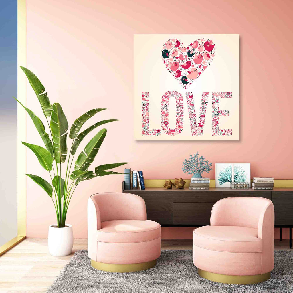 New Product Concept romantic (Canvas Print)  - Andrew Lee Home and Living