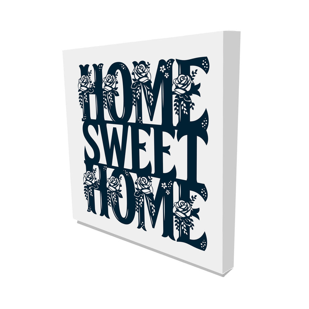 New Product Home Sweet Home (Canvas Print)  - Andrew Lee Home and Living