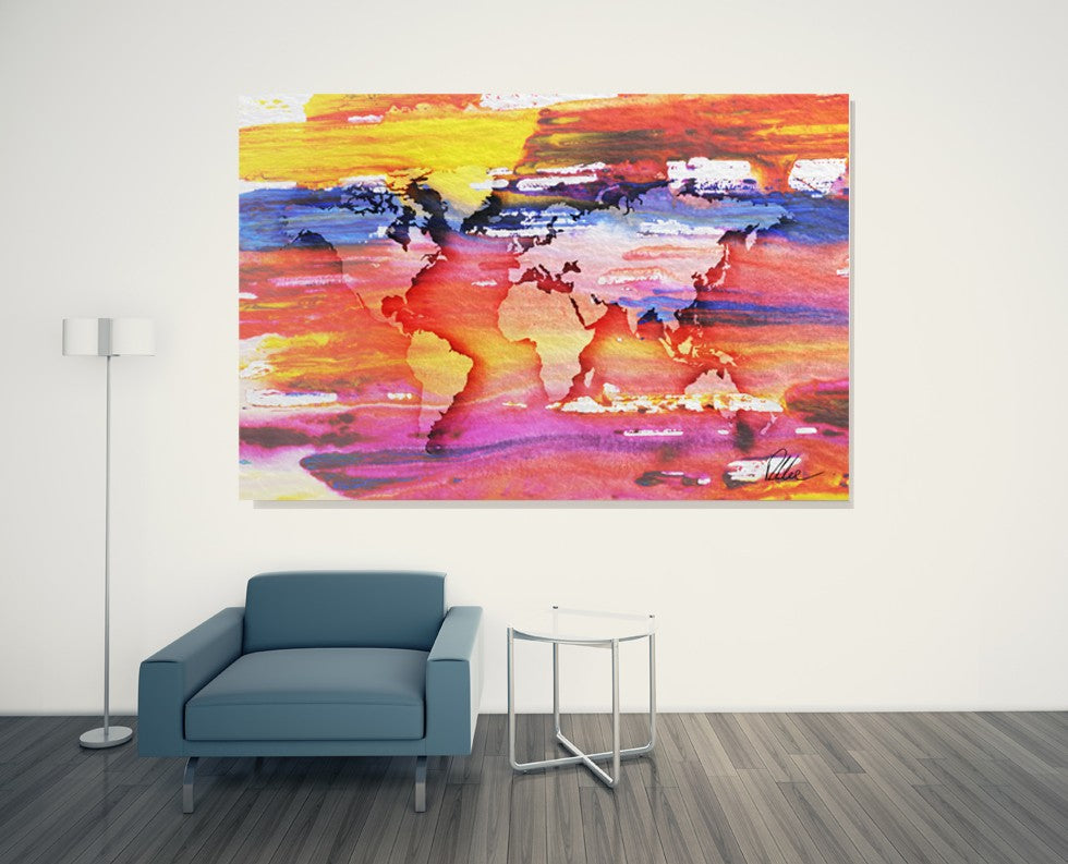 New Product Painty Map  - Andrew Lee Home and Living Homeware