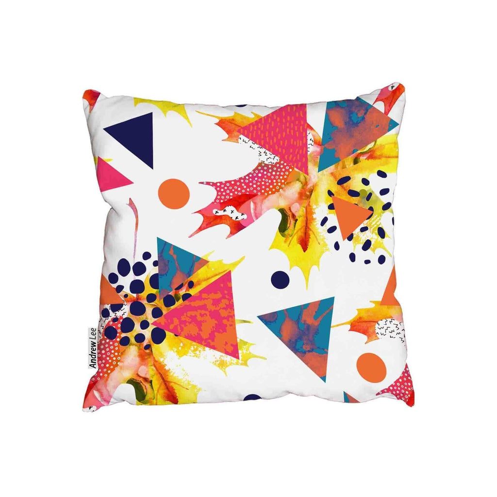 New Product Abstract autumn geometric (Cushion)  - Andrew Lee Home and Living