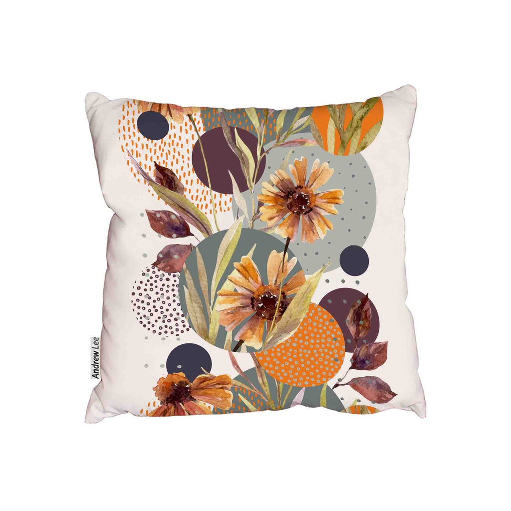 New Product Watercolor flowers and leaves (Cushion)  - Andrew Lee Home and Living