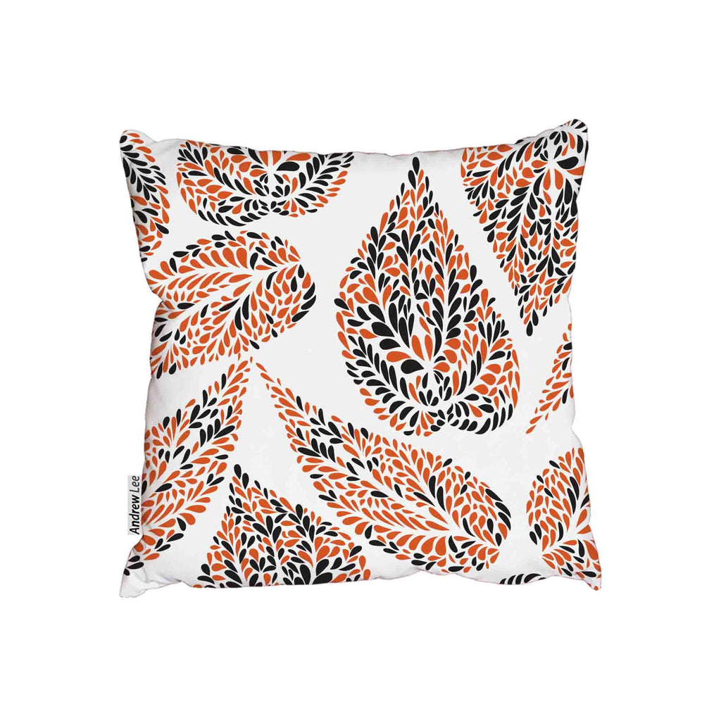 New Product Swirl with floral doodled textures (Cushion)  - Andrew Lee Home and Living