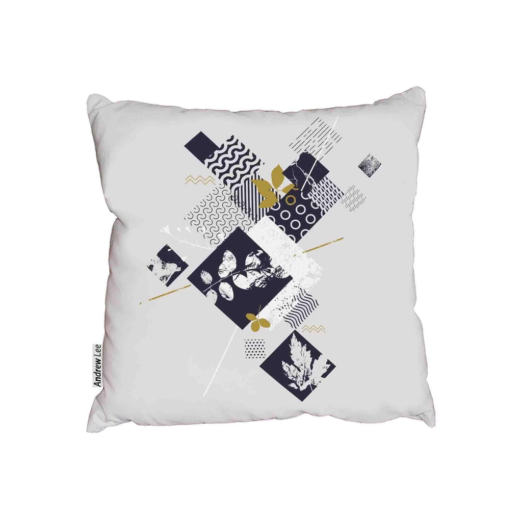 New Product Abstract botanical elements (Cushion)  - Andrew Lee Home and Living