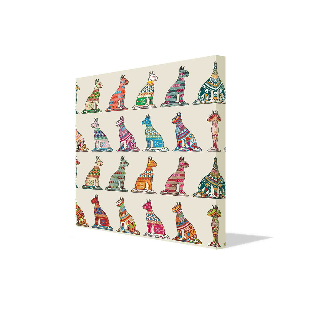 New Product Cats of egypt (Canvas Print)  - Andrew Lee Home and Living Homeware