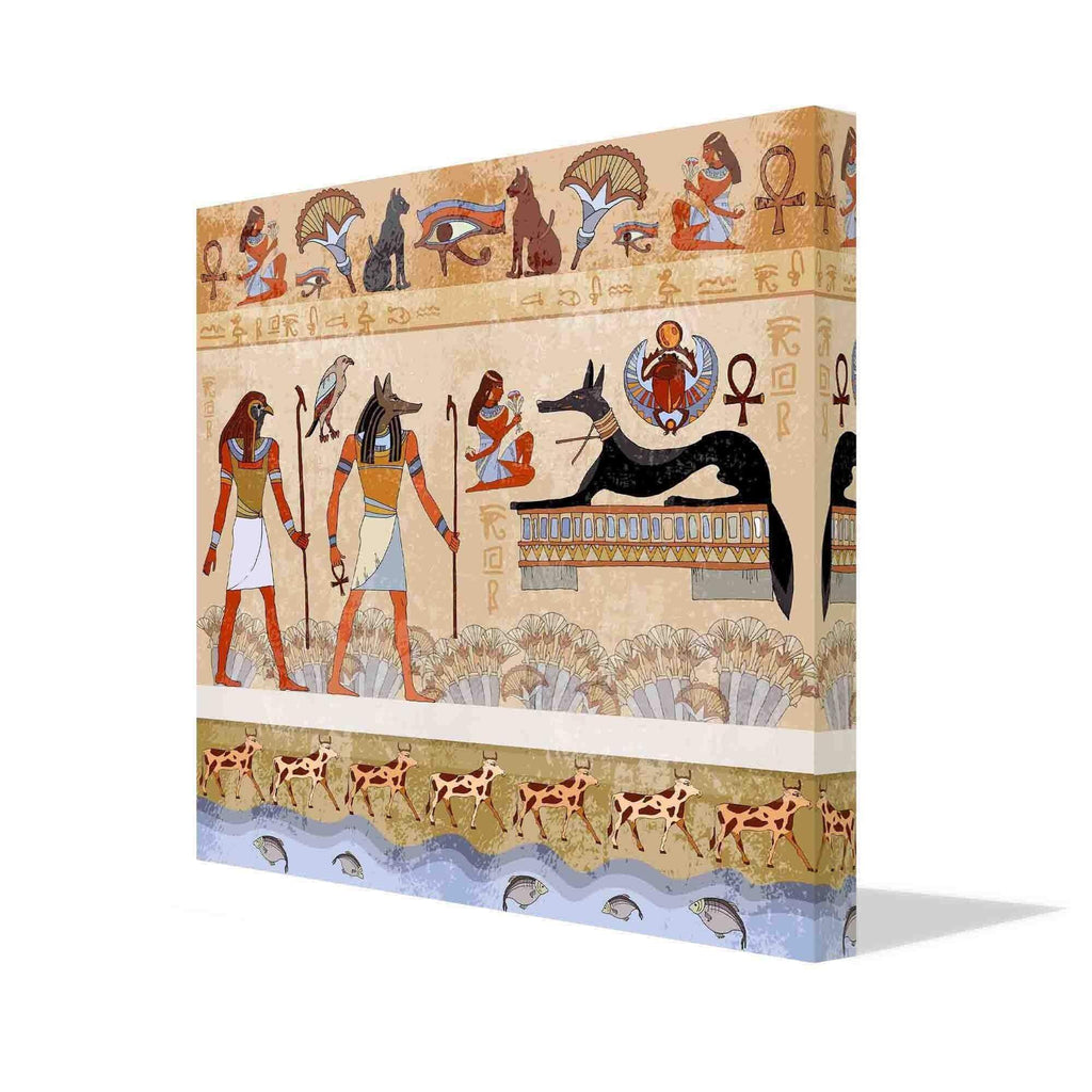 New Product Ancient Egypt (Canvas Print)  - Andrew Lee Home and Living Homeware