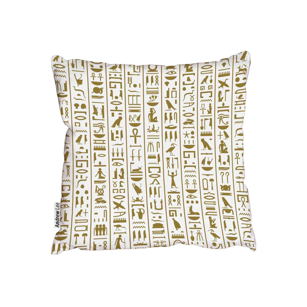 New Product Ancient Egyptian Hieroglyphs cushion (Cushion)  - Andrew Lee Home and Living