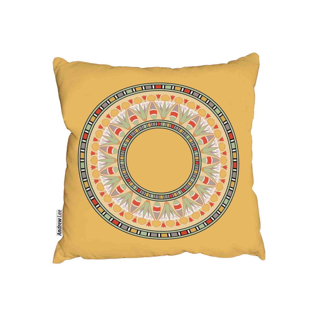 New Product Circle ornament Orange (Cushion)  - Andrew Lee Home and Living