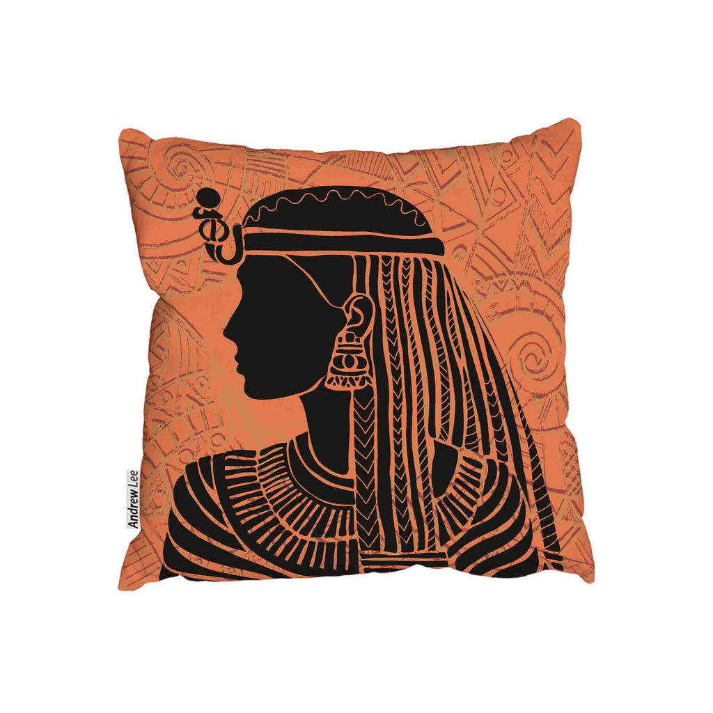New Product Egyptian woman Orange (Cushion)  - Andrew Lee Home and Living