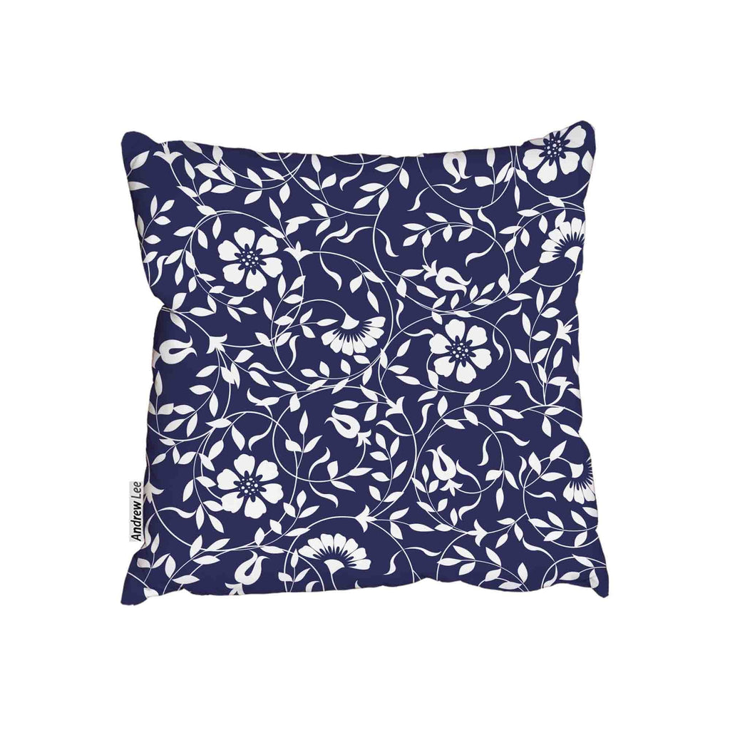 New Product Blue and white (Cushion)  - Andrew Lee Home and Living