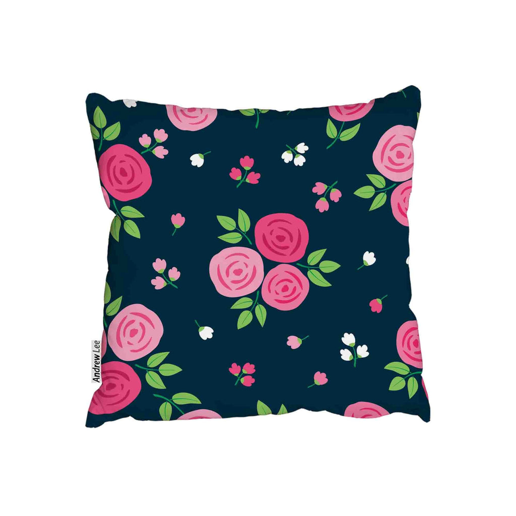 New Product Hand drawn roses (Cushion)  - Andrew Lee Home and Living