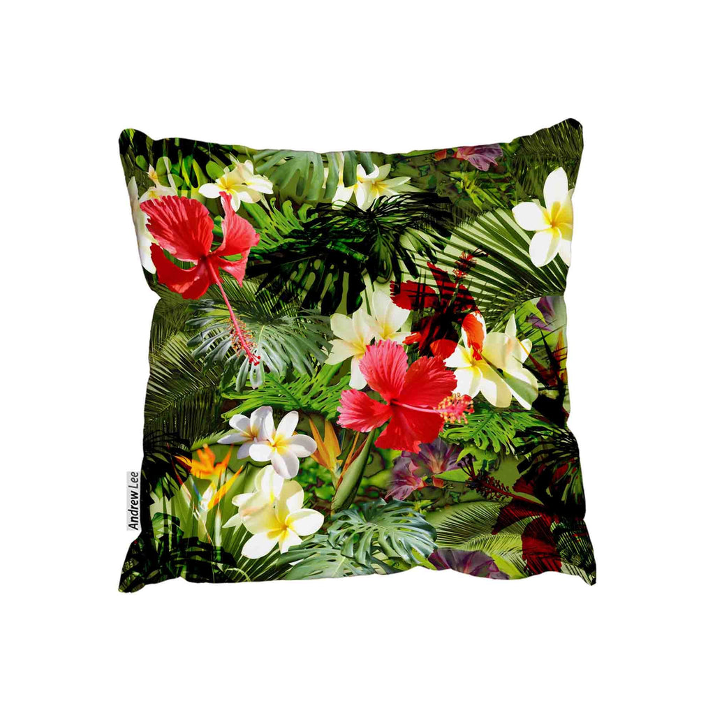 New Product Tropical floral pattern (Cushion)  - Andrew Lee Home and Living