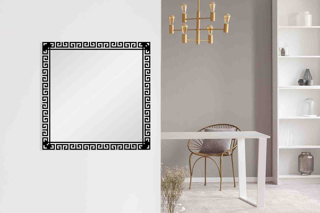 New Product Greek Frame (Mirror Art print)  - Andrew Lee Home and Living