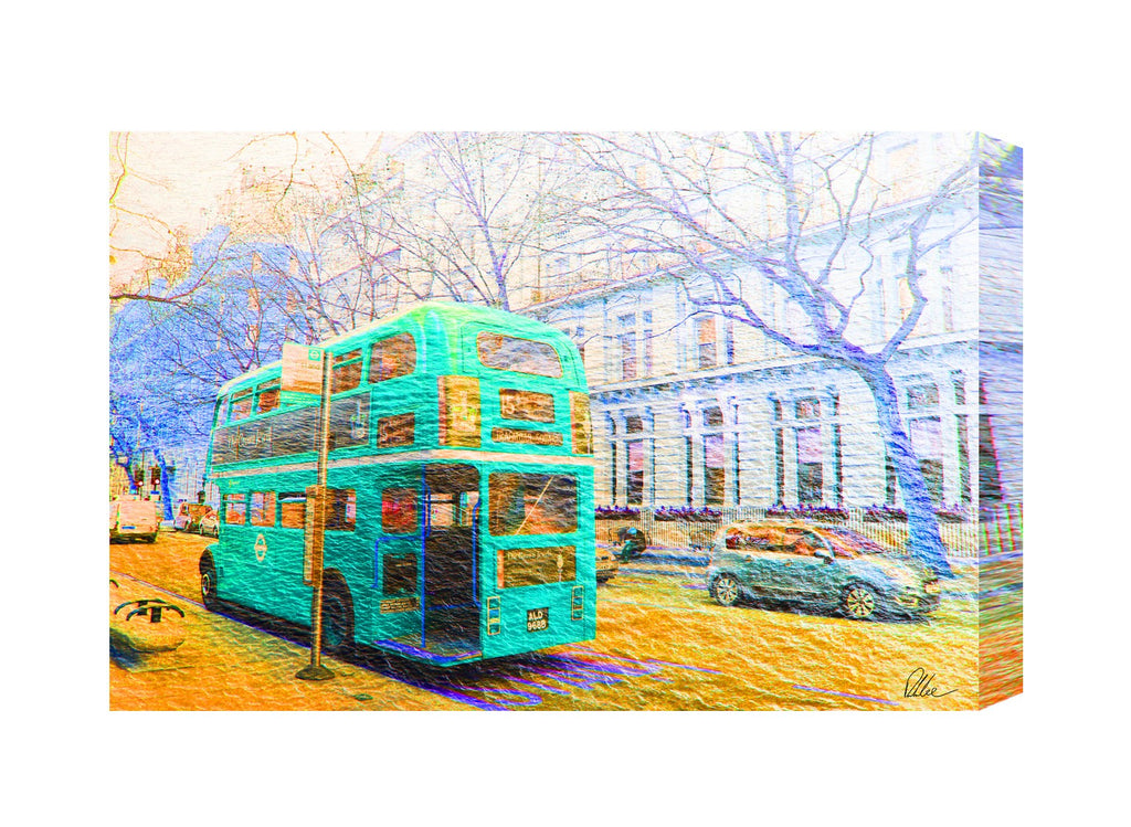 New Product London Bus Green  - Andrew Lee Home and Living
