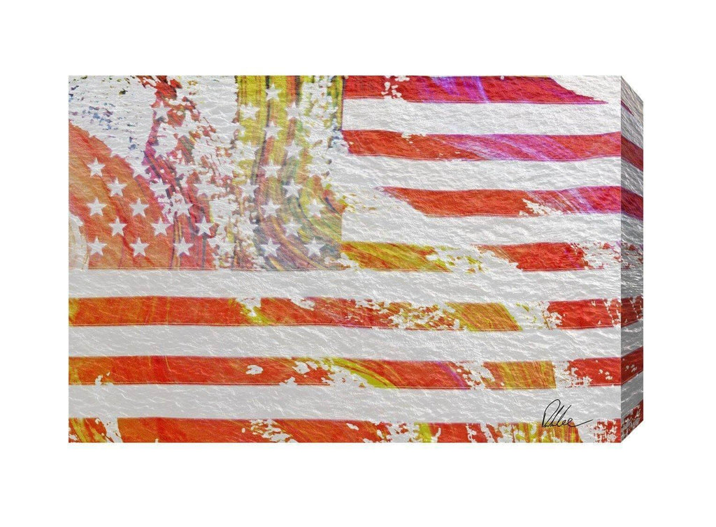 New Product American Flag Flare  - Andrew Lee Home and Living