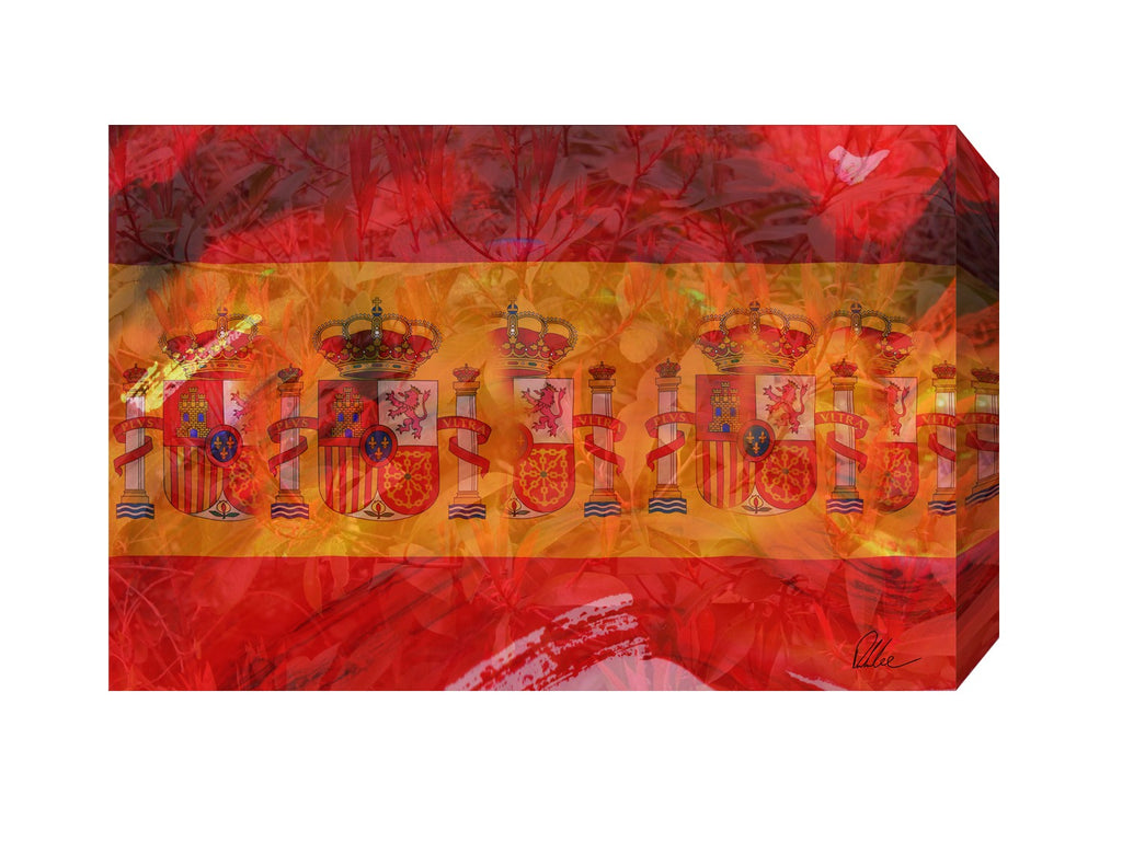 New Product Spain Flag  - Andrew Lee Home and Living