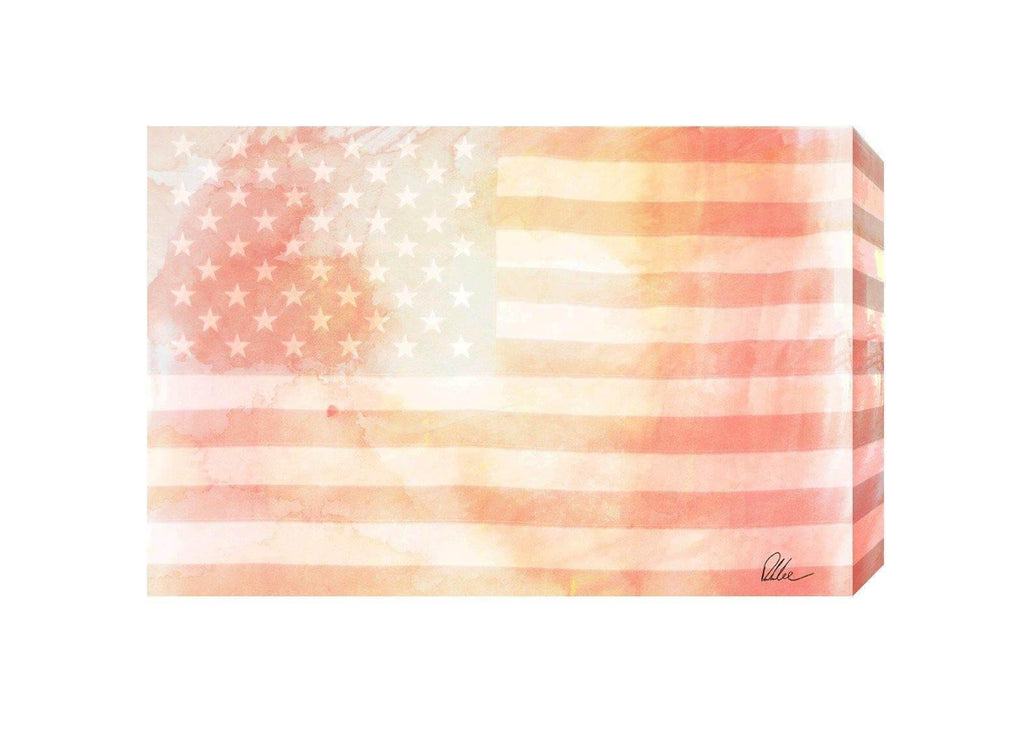 New Product American Flag Subtle  - Andrew Lee Home and Living