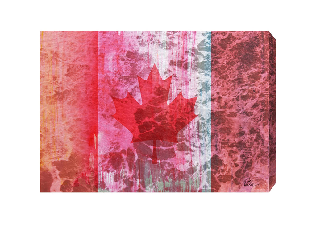 New Product Canada Flag  - Andrew Lee Home and Living