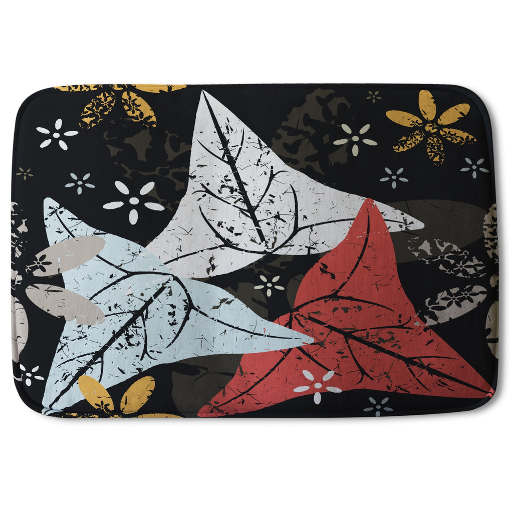 New Product Leaves And Flowers. Autumn pattern (Bath Mat)  - Andrew Lee Home and Living