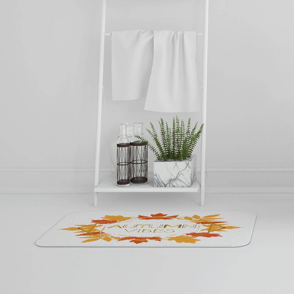 New Product Autumn Vibes (Bath Mat)  - Andrew Lee Home and Living