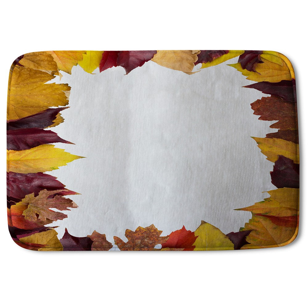 New Product Orange & Purple Autumn (Bath Mat)  - Andrew Lee Home and Living
