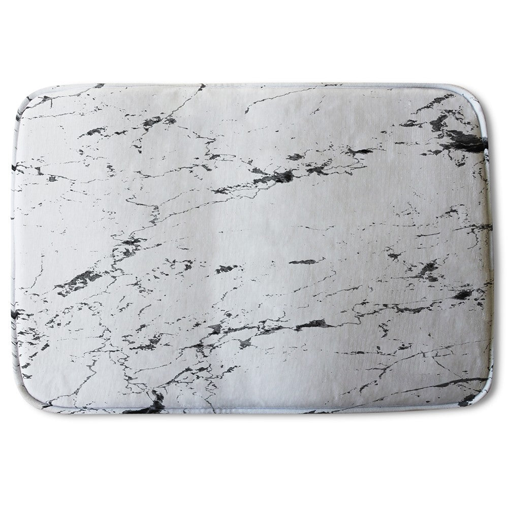 New Product Thin Black Marble (Bath Mat)  - Andrew Lee Home and Living