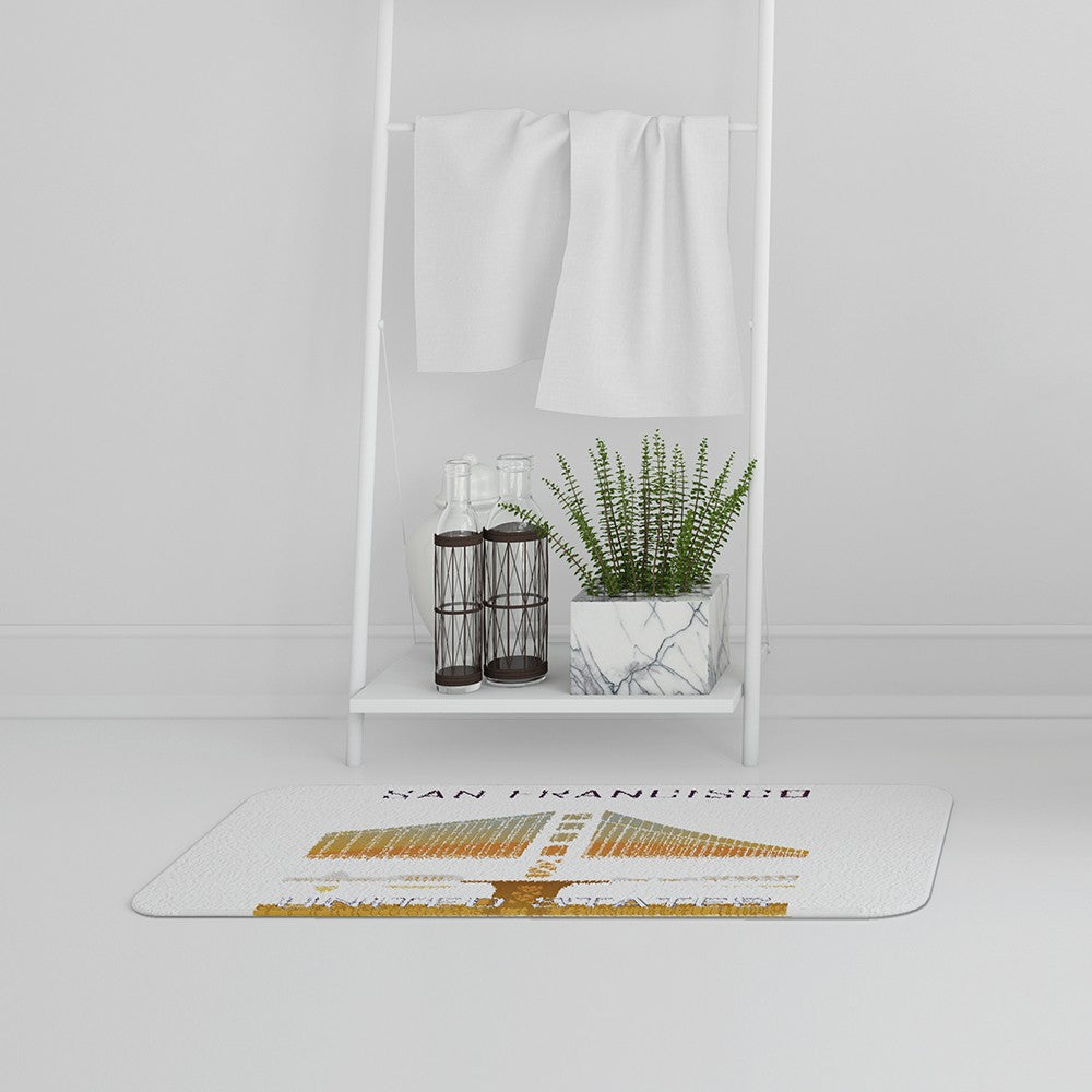New Product San Francisco (Bath Mat)  - Andrew Lee Home and Living