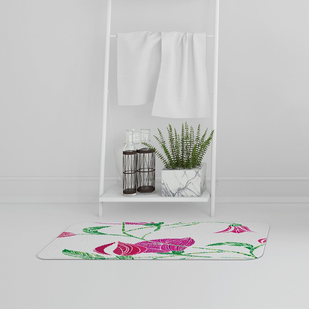 New Product Tulips (Bath Mat)  - Andrew Lee Home and Living