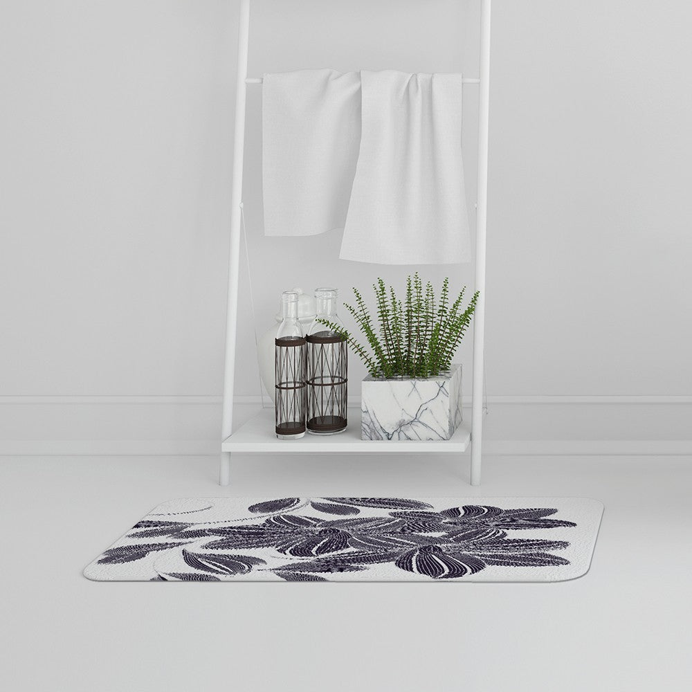 New Product Orchids (Bath Mat)  - Andrew Lee Home and Living