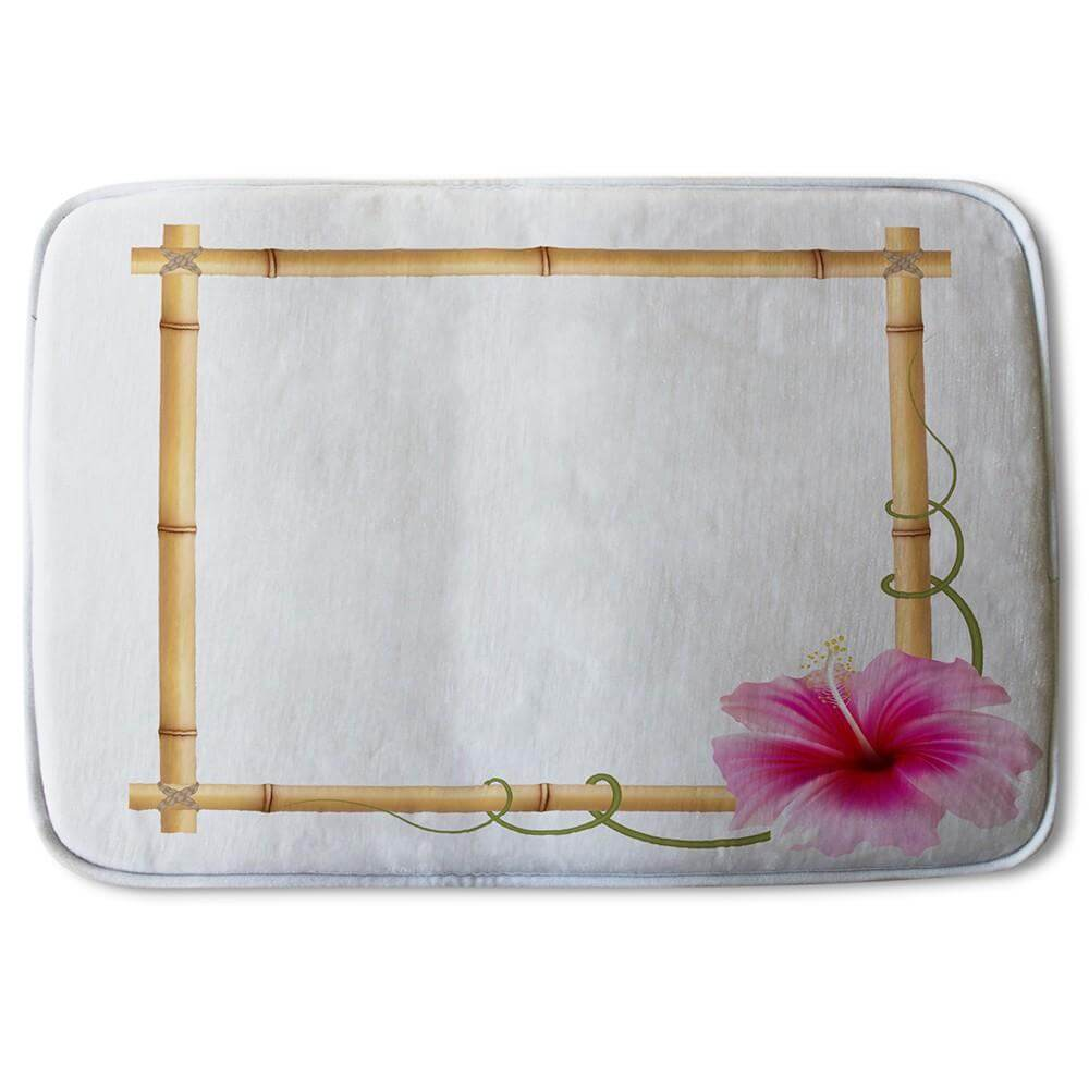 New Product Bamboo Border (Bath Mat)  - Andrew Lee Home and Living